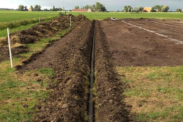 jtg projecten drainage weiland akker