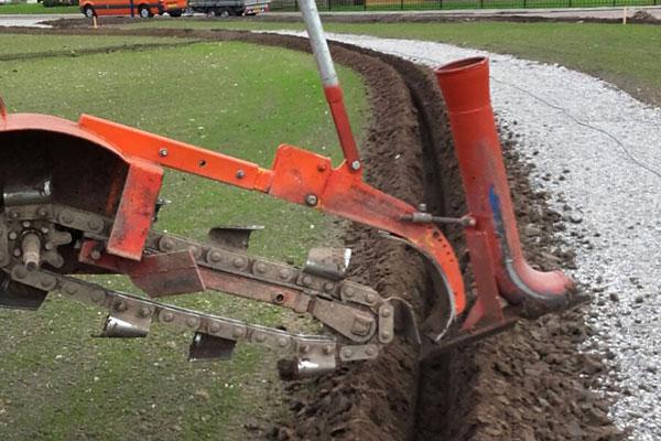 jtg werkzaamheden drainage sleuvengraver