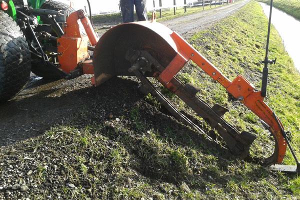 JTG werkzaamheden drainage