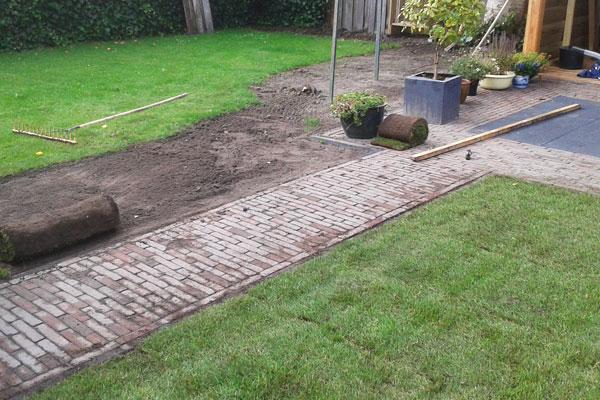 JTG werkzaamheden gazon- en tuinrenovatie