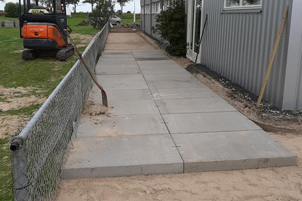 Bestrating en betonplaten