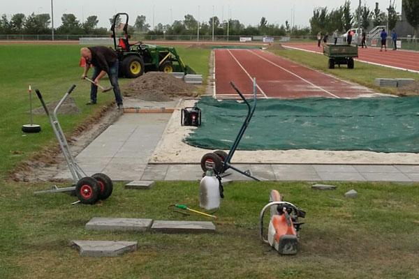 JTG project sportveld